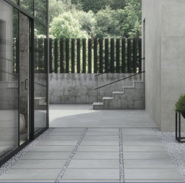 Firenze 600x600x20mm Grey