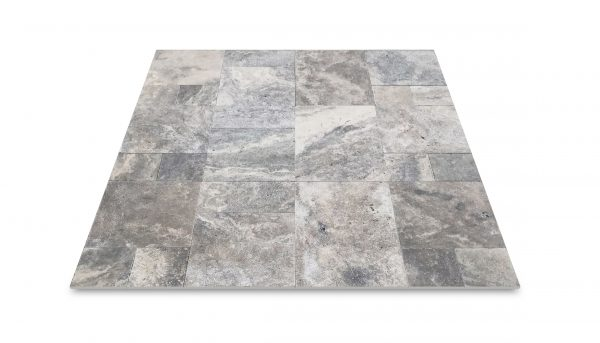 Silver Travertine Natural Stone Multi Size Set