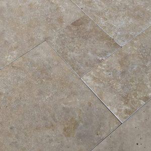 Walnut Travertine Natural Stone Multi Size Set